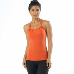 Prana Quinn Chakara Top in Fire Red