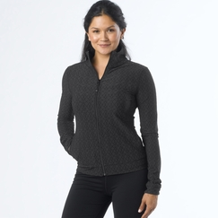 Prana Randa Jacket in Black Jacquard