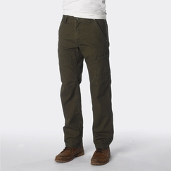 Prana Rawkus Canvas Pant in Cargo Green