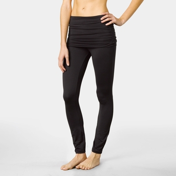 Eco Prana Remy Skirted Legging in Black