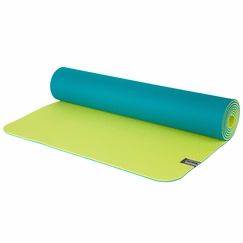 Prana Reversible ECO Sticky Mat in Lake/Lime