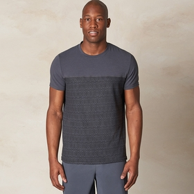 Prana Ridge Tech Performance T-Shirt in Coal