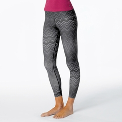 Prana Roxanne Printed Legging in Coal