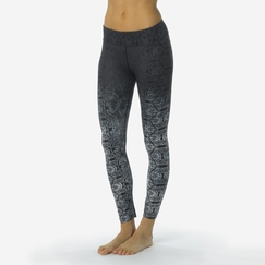 Prana Roxanne Printed Legging in Black Nouveau