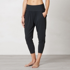 Eco Prana Ryley Crop Pant in Black