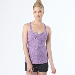 Prana Solstice Top in Boysenberry