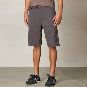Prana Stretch Zion Short in Charcoal