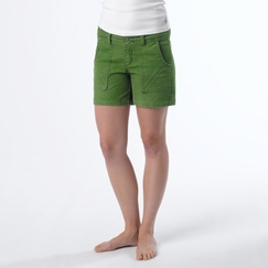 Organic Prana Suki Short in Deep Jade