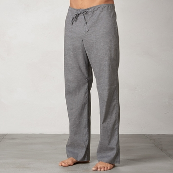 Hemp Prana Sutra Drawstring Pant in Gravel