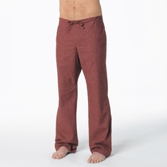 Hemp Prana Sutra Pant in Raisin