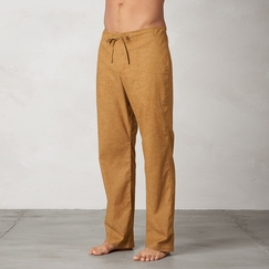 Hemp Prana Sutra Pant in Dark Ginger