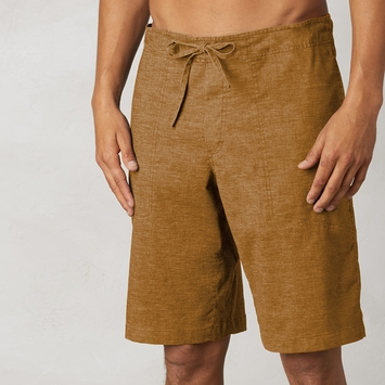 Hemp Prana Sutra Short in Dark Ginger