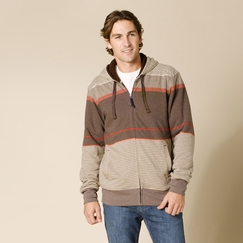 Organic Prana Throttle Hoodie in Brown