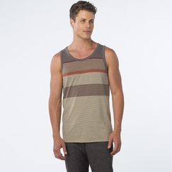 Organic Prana Throttle Tank in Buttermilk