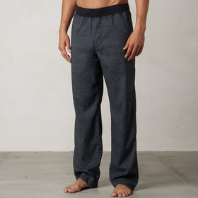 Hemp Prana Vaha Yoga Pant in Black