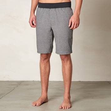 Hemp Prana Vaha Yoga Short in Gravel