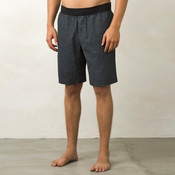 Hemp Prana Vaha Yoga Short in Black