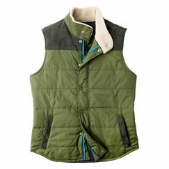 Prana Waylen Vest in Leaf