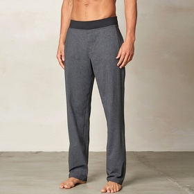 Prana Wyler Stretch Knit Pant in Charcoal Heather