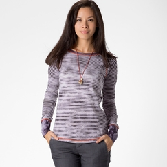 Prana Zoe Top in Dark Eggplant