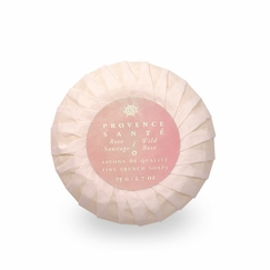 Provence Sante Triple-Milled Gift Soap in Wild Rose