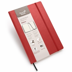 Quo Vadis Habana Large Ruled Journal 85g (6.25 x 9.25) in Red