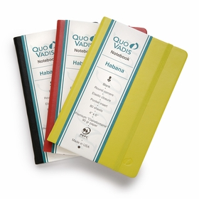 Quo Vadis Habana Small Plain Journal 90g. (4 x 6.125) in Red