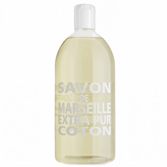 REFILL Savon de Marseille Extra Pur Liquid Soap (33.8 oz) in Cotton Flower