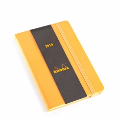 Rhodia 2014 Pocket Weekly Planner (4 x 6) in Orange