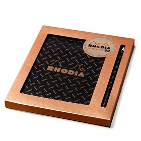 Rhodia 80th Anniversary Limited Edition Boxed Gift Set (No. 80) in Graph