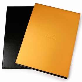 Rhodia Leatherette No. 18 Notepad Holder (8.25 x 11.75) in Black