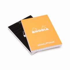 Rhodia Pocket No. 12 dotPad (3.375 x 4.75) in Orange