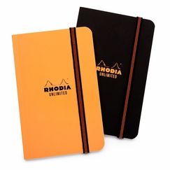 Rhodia Pocket Unlimited Notebook (3.5 x 5.5) in Orange