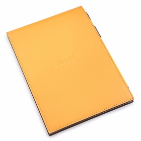Rhodia Premium No. 16 Notepad & Holder Gift Set (6 x 8.75) in Orange