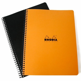 Rhodia Side Spiral Bound A4 Notebook (8.25 x 11.75)