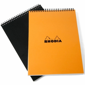 Rhodia Top Spiral Bound No. 18 Notepad (8.25 x 11.75)