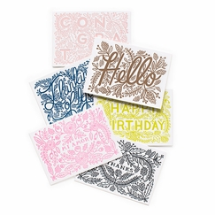 Rifle Paper Assorted Letterpress Cards