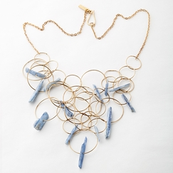 Roost Blue Kyanite Necklace