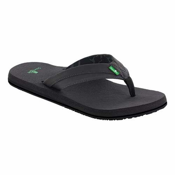 Sanuk Men's Beer Cozy Light Sandal in Black