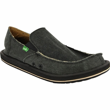 Sanuk Vagabond Shoe in Charcoal