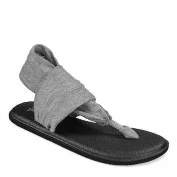 Sanuk Yoga Sling 2 Sandal in Metallic Grey