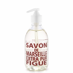 Savon de Marseille Extra Pur Liquid Soap (10 oz Plastic Bottle) in Fig