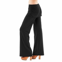 Sense Ruched Tunic Pant in Black