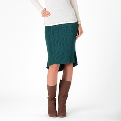 Hemp Stewart + Brown Hess Skirt in Emerald Eve