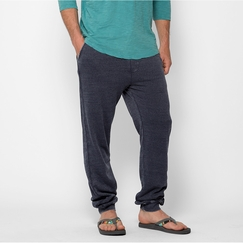 Organic Threads 4 Thought Burnout Wash Jogger Pant in Eclipse Blue