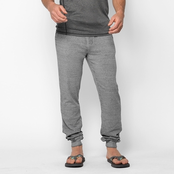 Organic Threads 4 Thought Burnout Wash Jogger Pant in Heather Grey
