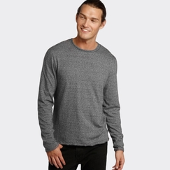 Organic Threads 4 Thought Double Layer Crew in Heather Charcoal