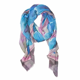 Tilo Scarf in Blue Flower