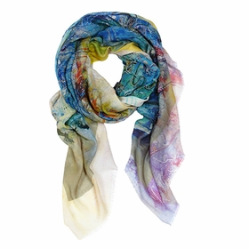 Tilo Scarf in Watercolor