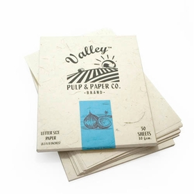 Valley Eco Pulp Stationery (8.5 x 11) in Coconut